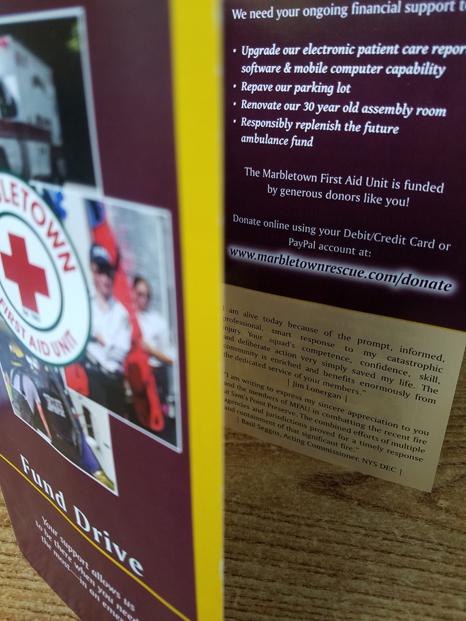 MFAU Fundraising Brochure